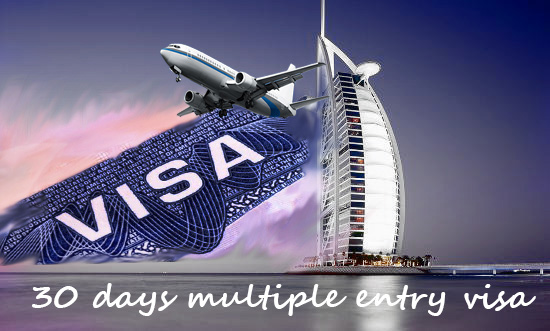 30 Days Multiple entry Visa